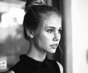 beauty, black and white, and scarlett leithold image