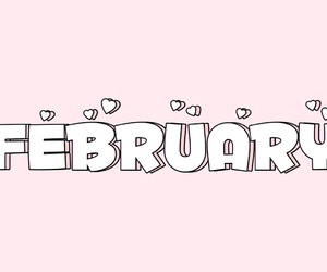 february, winter, and love image