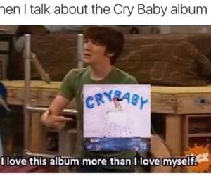 album, celebrities, and crybaby image