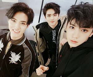 pentagon, wooseok, and yeo one image