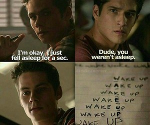 teen wolf, stiles, and tw image