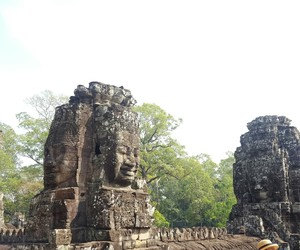 Cambodia, siem reap, and bayon temple image