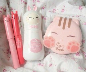 cute, korean, and pink image
