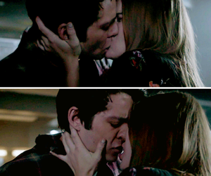 holland roden, dylan o´brien, and stiles and lydia image