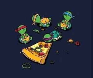 forever, pizza, and memories image