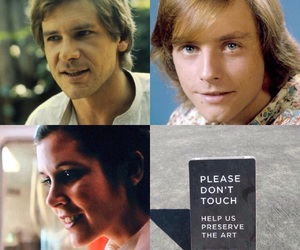 han, LUke, and Skywalker image