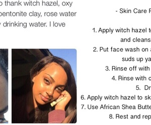 acne, goals, and skin care image