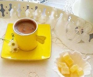 kahve, papatya, and turkish cofee image