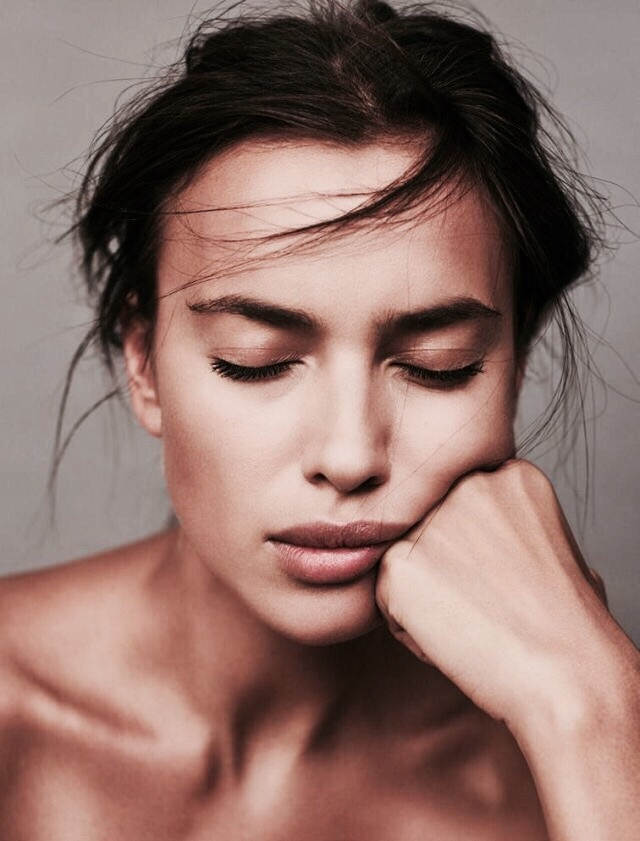 beauty, model, and irina shayk image