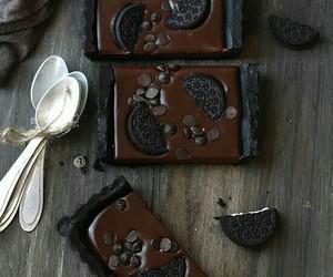 chocolate, food, and tarts image