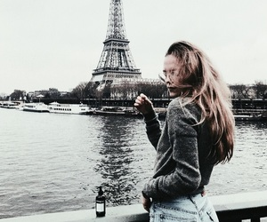fashion, paris, and alternative image