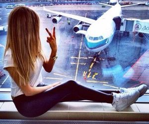 girl, travel, and صور بنات image