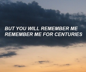 centuries, fall out boy, and Lyrics image