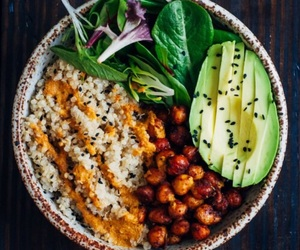 food, avocado, and vegan image