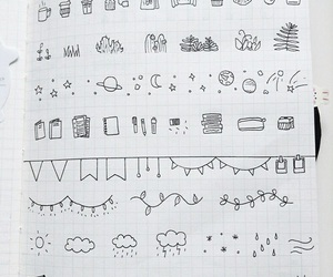 doodle, ideas, and art image