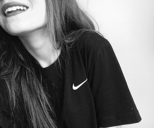 nike, girl, and style image