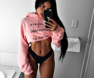 beauty, girl, and body image