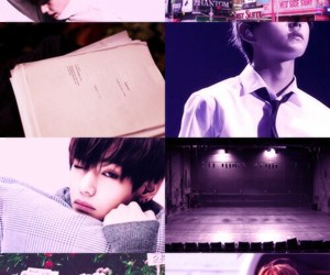 v, bts, and aesthetic image