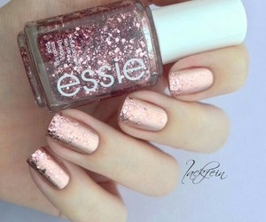 girl, pink, and sparkle image