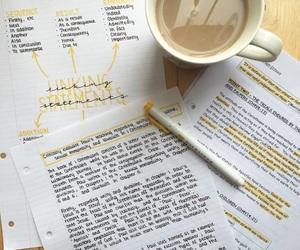 girl, school, and study image