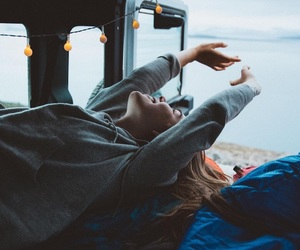 girl, travel, and wanderlust image
