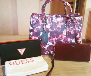 bags, fashion, and flowers image