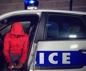 police and thug image
