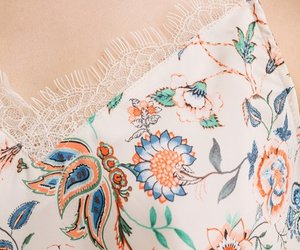 floral, lace, and promod image