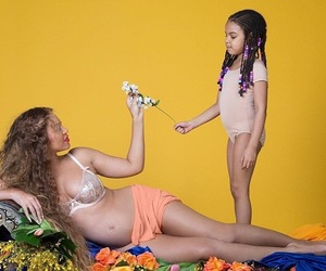 beautiful, belly, and beyoncé image