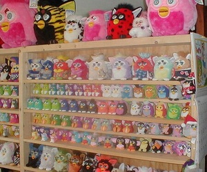 furby, 90s, and toys image