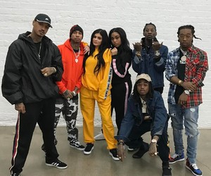 kylie jenner, girl, and tyga image