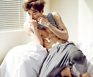 lee jong suk, actor, and abs image