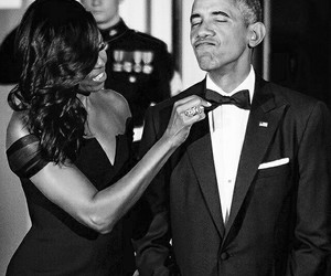 couple, obama, and president image