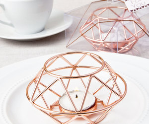 candle holder, etsy, and rose image