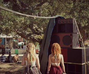 dreads, drums, and festival image