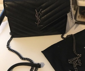 bag, chain, and clutch image