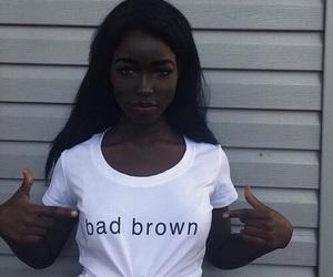 girl, beauty, and black image