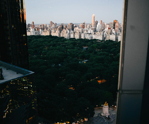 city, new york, and Central Park image