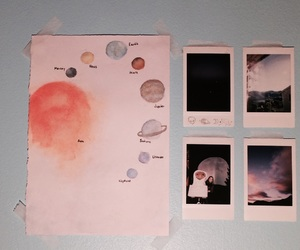 galaxy, memories, and painting image
