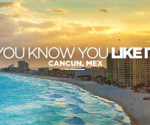 beach, magic, and cancún image