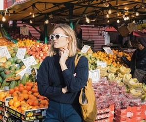 fashion, FRUiTS, and jeans image