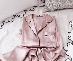 pink, pajamas, and rose gold image