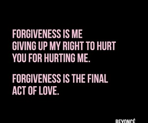 beyoncé and forgiveness image