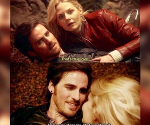 couple, hook, and once upon a time image