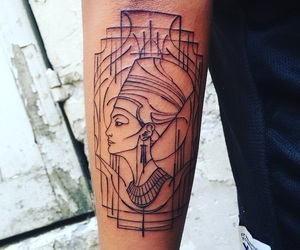 egyptian and tattoo image