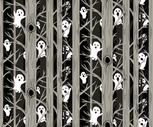 background, ghost, and pattern image