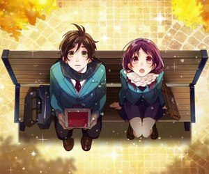 anime, couple, and romantic image