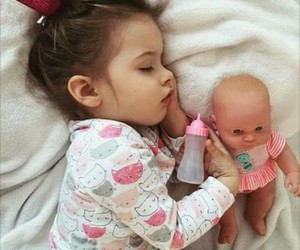 babies, girl, and cute image