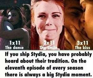 stydia and teen wolf image