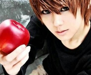 anime, death note, and kira image